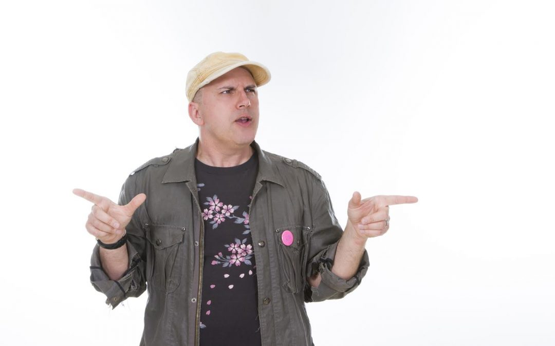Peterson Toscano: Climate Comedian, Theatrical Performance Activist, & Storyteller