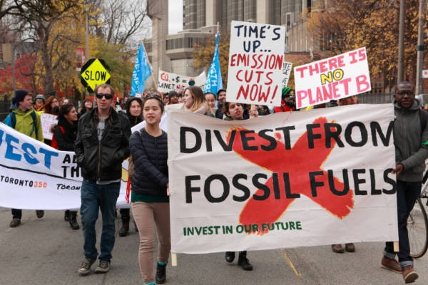 Fossil Fuel Divestment is Gaining Momentum