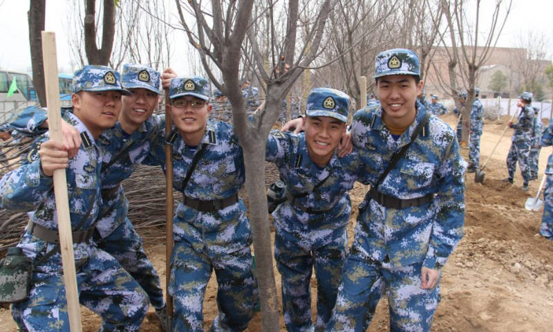 China's Military Fighting Climate Change…by Planting Trees!
