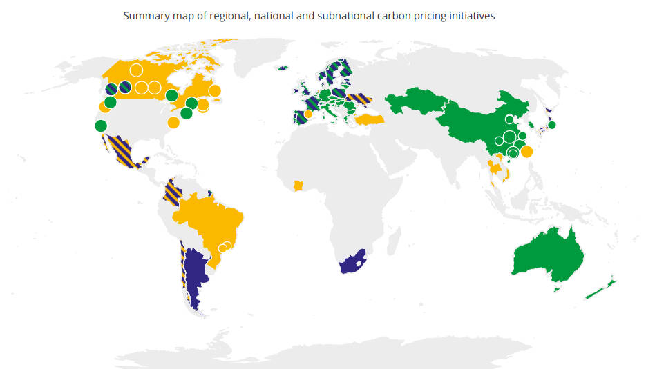 Carbon Pricing: What it is and Current Status Globally (2018)