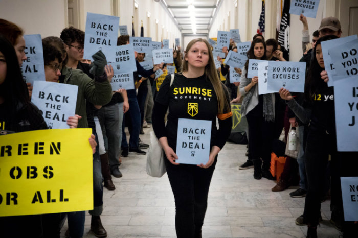 Protesting for a Green New Deal: The Inside Scoop