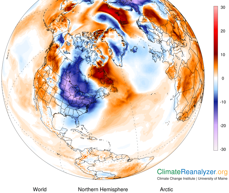 Yes, Global Warming May Be to Blame for Winter Extremes